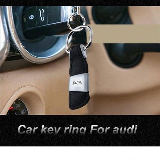 アウディ キーホルダー レザー Sライン RS キーリング Audi A3 A5 A4L A6L A7 S3 S4 S5 S6 Q3 Q5 Q7 Q7 TT RS h00344