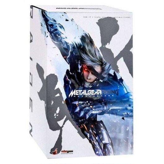 メタルギアソリッド ホットトイズ フィギュア おもちゃ Metal Gear Rising Revengeance Video Game Masterpiece Raiden 1/6