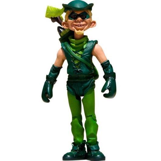 フィギュア おもちゃグッズ Toys and Collectibles Mad Magazine Green Arrow Just Us League Action Figure