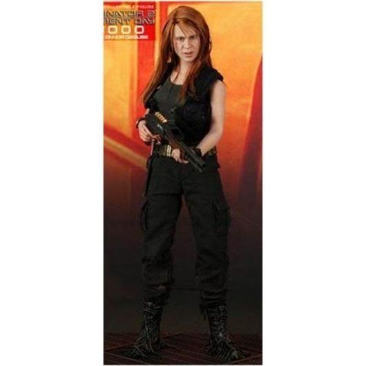 ターミネーター Terminator ホットトイズ Hot Toys フィギュア おもちゃ 2 Judgment Day T-1000 as Sarah Connor 1/6