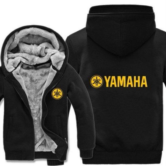 高品質 ヤマハ YAMAHAパーカー あったかい フリースパーカー ジップアップ  衣装 コスチューム 小道具 海外限定 非売品 映画グッズ 映画関連  13