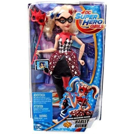 ハーレー クイン Harley Quinn マテル Mattel Toys 人形 おもちゃ DC Super Hero Girls Masquerade 12-Inch Deluxe Doll