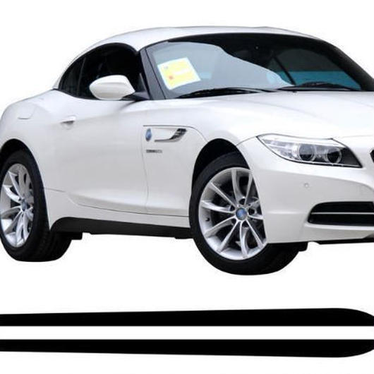BMW ステッカー サイドスカート Z4 E85 E86 E89 Mスポーツパフォーマンス ストライプ デカール h00074