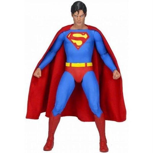 スーパーマン Superman ネカ NECA フィギュア おもちゃ DC Quarter Scale Christopher Reeve Action Figure