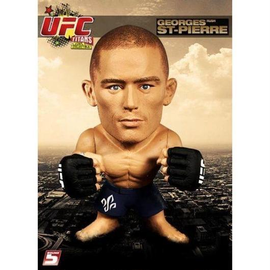 UFC ラウンド5 Round 5 フィギュア おもちゃ Titans Georges St Pierre Vinyl Figure [No Gi]
