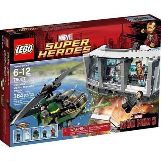 アイアンマン Iron Man レゴ LEGO おもちゃ Marvel Super Heroes 3 : Malibu Mansion Attack Set #76007