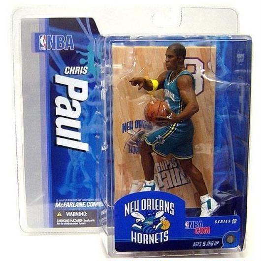 マクファーレントイズ McFarlane Toys NBA New Orleans Hornets Sports Picks Series 12 Chris Paul  [Teal Jersey]