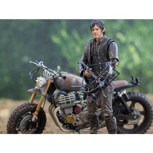 ウォーキング デッド マクファーレン MCFARLANE The Walking Dead TV Series - Daryl Dixon with New Bike Deluxe Boxed Set