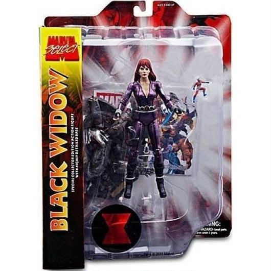 ブラック ウィドウ Black Widow ダイアモンド セレクト Diamond Select Toys フィギュア おもちゃ Marvel Select Exclusive