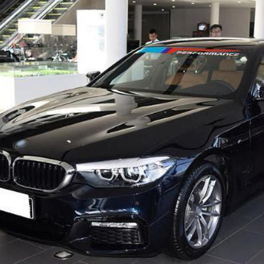 BMW ステッカー Mパフォーマンス ペア X1 X3 X5 X6 Z4 M2 M3 M4 M5 e46 e60 e39 e90 f15 ウィンド デカール h00084
