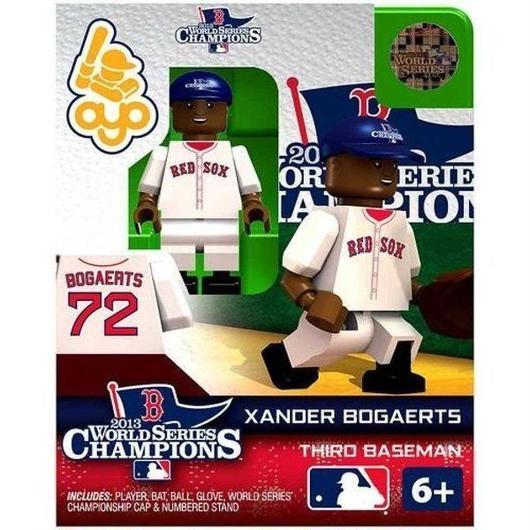 MLB Oyo フィギュア おもちゃ Boston Red Sox 2013 World Series Champions Xander Bogaerts Minifigure