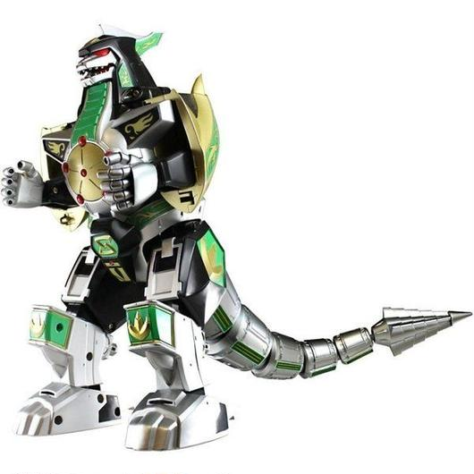 パワーレンジャー Power Rangers バンダイ Bandai フィギュア おもちゃ Mighty Morphin Legacy Green Dragonzord Action Figure