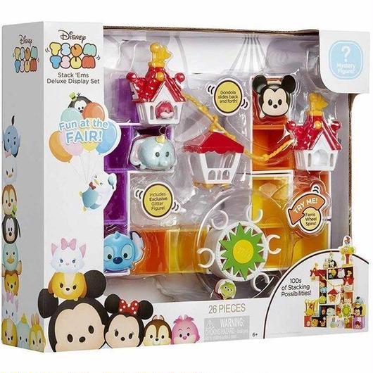 ディズニー Disney ジャックスパシフィック Jakks Pacific おもちゃ Tsum Tsum Fun at the Fair Deluxe Display Set