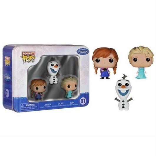 アナと雪の女王 アナ雪 ファンコ FUNKO Frozen Pocket Pop! Collector Tin