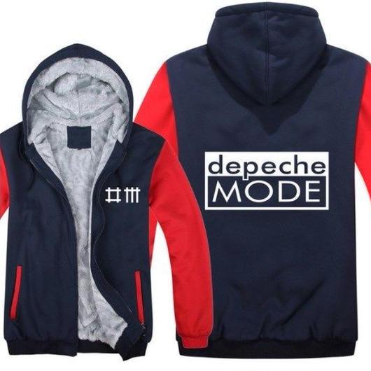 高品質デペッシュ·モード Depeche Mode フリースパーカー  スウェット 衣装 コスチューム 小道具 海外限定