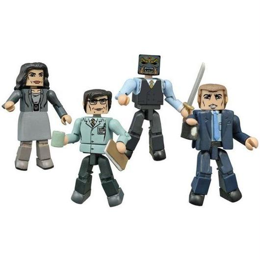 ディーシー ダイアモンド セレクト DIAMOND SELECT TOYS Gotham Minimates Series 1 Four Pack