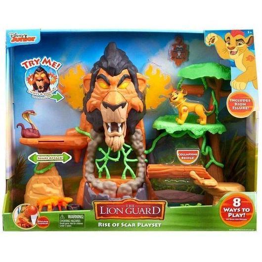 ライオン ガード The Lion Guard ジャストプレイ Just Play おもちゃ Disney The Rise of Scar Playset