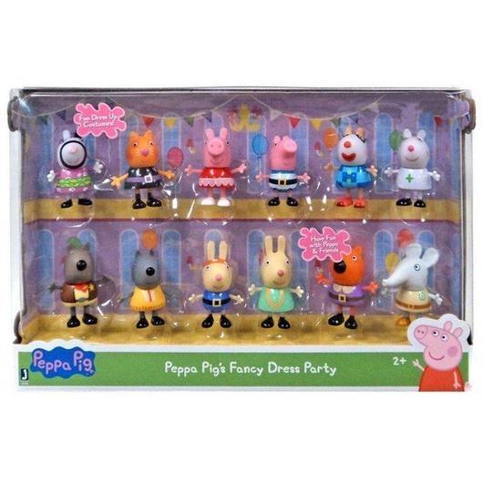 ペッパピッグ Peppa Pig ジャズウェアーズ Jazwares フィギュア おもちゃ Fancy Dress Party Exclusive Figure 12-Pack