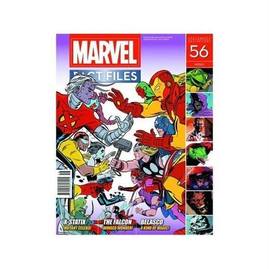 マーベル イーグルモスパブリケーションズ EAGLEMOSS PUBLICATIONS Marvel Fact Files #56