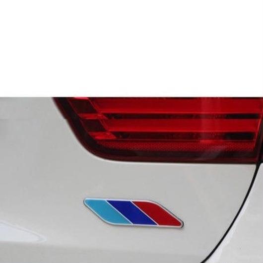 BMW エンブレム 2個入 ボディステッカー 3色 X3 X5 X6 320 520LI h00290