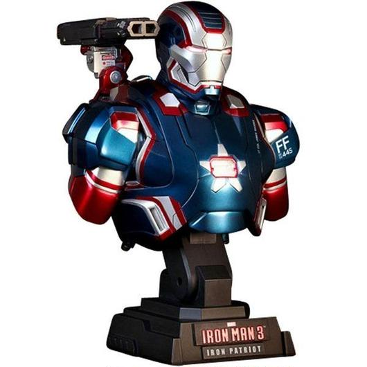 アイアンマン ホットトイズ Hot Toys Hot Toys Iron Man 3 Iron Patriot 1/4 Scale Bust Figure
