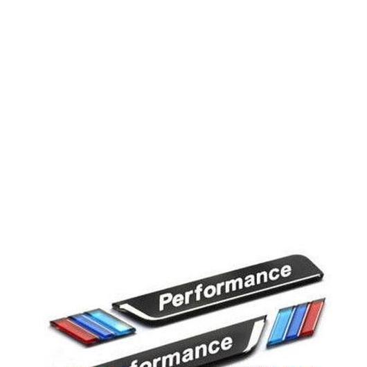 BMW エンブレム ステッカー 2個入 アクリル Mパフォーマンス 車窓  E34 E36 E60 E90 E46 E46 E39 h00277