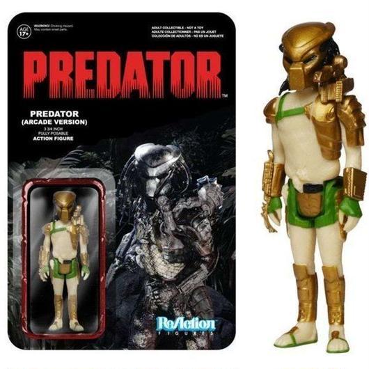 プレデター Predator ファンコ Funko フィギュア おもちゃ ReAction Exclusive Action Figure [Arcade Version]