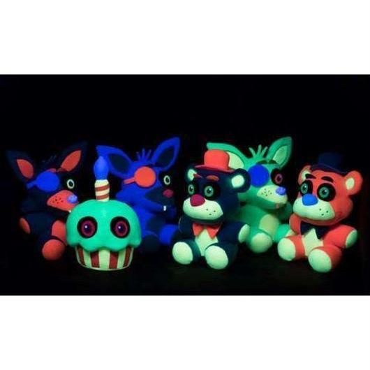 ファイヴナイツアットフレディーズ Five Nights at Freddy's ファンコ Funko ぬいぐるみ おもちゃ Blacklight Freddy 6-Inch Plushie