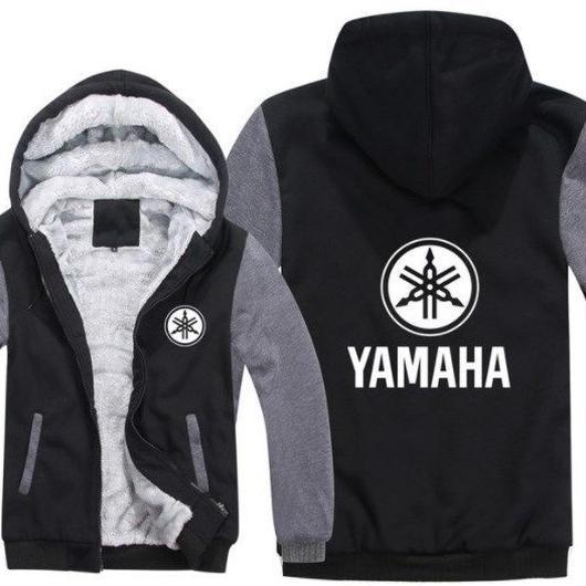 高品質 ヤマハ YAMAHAパーカー あったかい フリースパーカー ジップアップ  衣装 コスチューム 小道具 海外限定 非売品 映画グッズ 映画関連  8