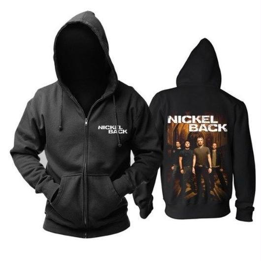 高品質   NICKELBACK ニッケルバック  ジップアップ パーカー 仮装 衣装 コスチューム 小道具 海外限定 9