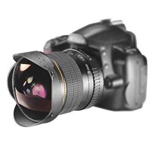 高性能 ニコン用 魚眼レンズ 広角レンズ 超広角 8ミリメートルf/3.5 一眼レフ デジタル d3100 d3200 d5200 d5500 等