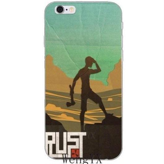 RUST ラスト TPU シリコン Iphone ケース アイフォンケース  オープンワールドサバイバルゲーム  14