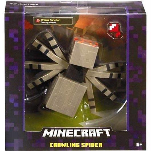 マインクラフト Minecraft マテル Mattel Toys フィギュア おもちゃ Survival Mode Crawling Spider Action Figure