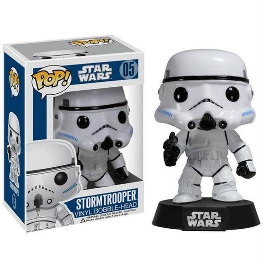 ファンコ ファンコ Funko Funko POP Star Wars Series 1 Stormtrooper Vinyl Bobble Head