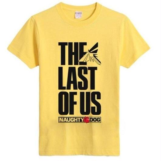 ラスト オブ アス  The Last of Us ゲーム ロゴデザインTシャツ  7