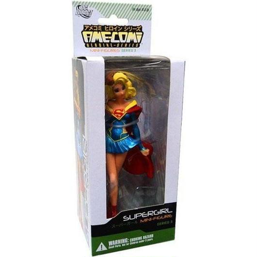 スーパーガール Supergirl ディーシー コミックス DC Direct フィギュア おもちゃ DC Ame-Comi Heroine Mini Figures Series 3 PVC
