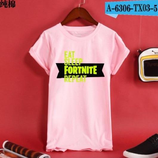 Fortnite フォートナイト ロゴ デザイン 綿100%  Tシャツ トップス  ユニセックス メンズ レディース  5