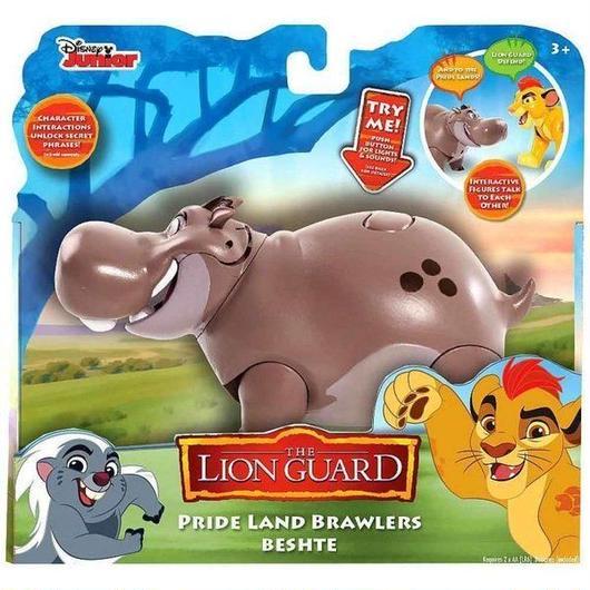 ディズニー Disney ジャストプレイ Just Play フィギュア おもちゃ The Lion Guard Pride Land Brawlers Beshte Interactive