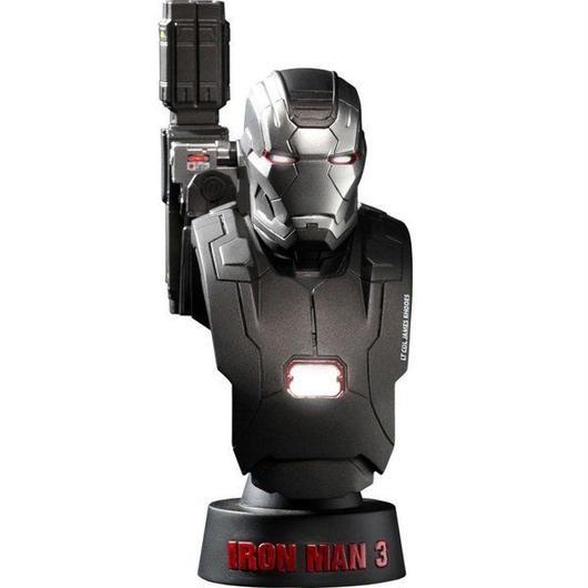 アイアンマン ホットトイズ Hot Toys Hot Toys Iron Man 3 War Machine Mk 2 1/6 Scale Bust Figure