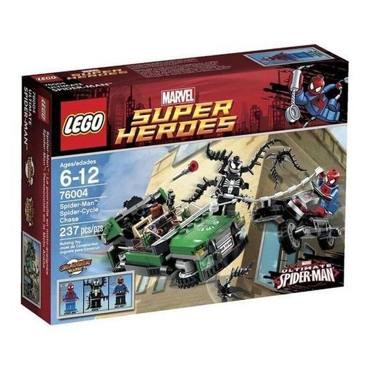 ヴェノム Venom レゴ LEGO おもちゃ Marvel Super Heroes Ultimate Spider-Man Spider-Cycle Chase Set #76004