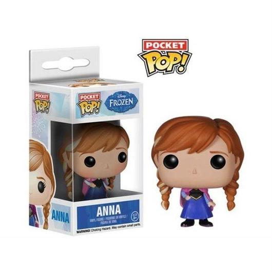 ディズニー ファンコ FUNKO Frozen Pocket Pop! - Anna