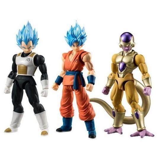 ドラゴンボール Dragon Ball Z バンダイ フィギュア おもちゃ Dragon Ball Super  SSG Vegeta, SSG Goku & Gold Frieza