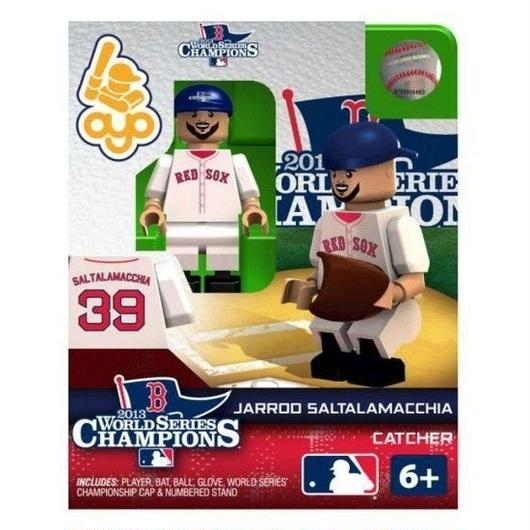 MLB Oyo フィギュア おもちゃ Boston Red Sox 2013 World Series Champions Jarrod Saltalamacchia Minifigure