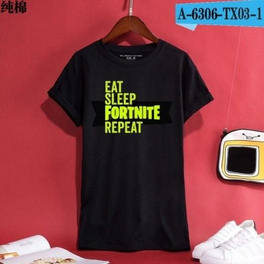 Fortnite フォートナイト ロゴ デザイン 綿100%  Tシャツ トップス  ユニセックス メンズ レディース