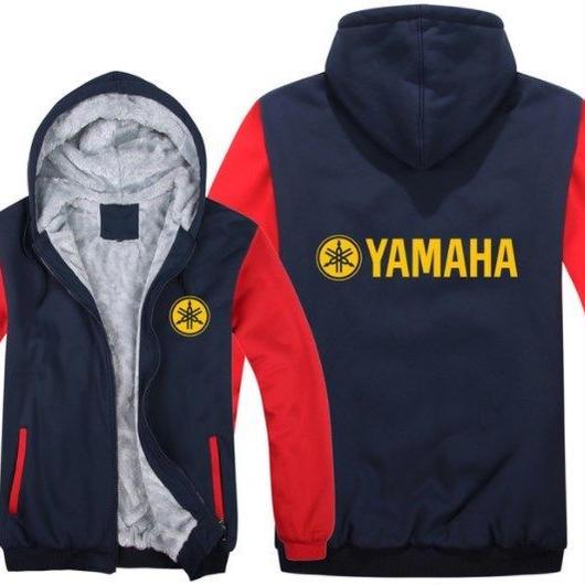 高品質 ヤマハ YAMAHAパーカー あったかい フリースパーカー ジップアップ  衣装 コスチューム 小道具 海外限定 非売品 映画グッズ 映画関連  10