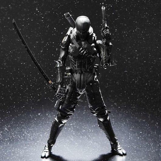 ジー アイ ジョー BAIT x GI Joe x 1000 Toys 1/6 Snake Eyes Figure - Convention Exclusive