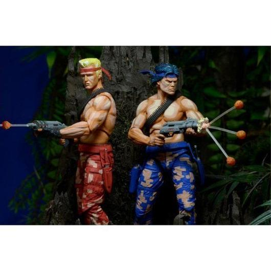 魂斗羅 ネカ NECA Contra Bill & Lance Figures (Video Game Appearance)