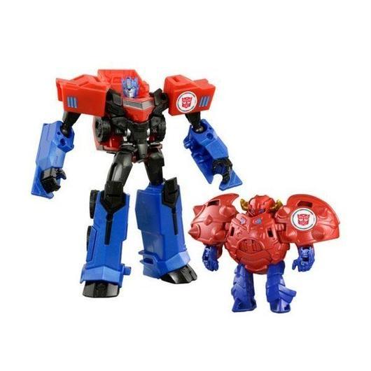 トランスフォーマー タカラトミー TAKARA TOMY Transformers Adventure TAV-41 Optimus Prime With Gravity & Armor