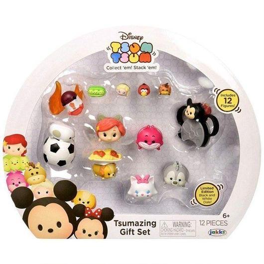 ディズニー Disney Tsum Tsum ジャックスパシフィック Jakks Pacific フィギュア おもちゃ Tsumazing Gift Set Minifigure 12-Pack