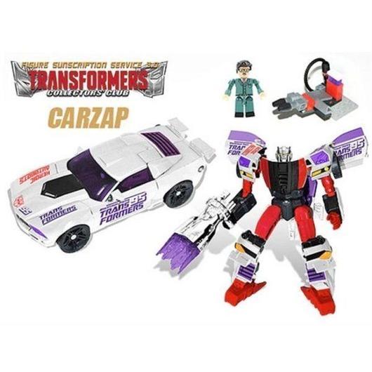 トランスフォーマー ハズブロ HASBRO Transformers Subscription Figure 3.0 - Carzap With G.B. Blackrock